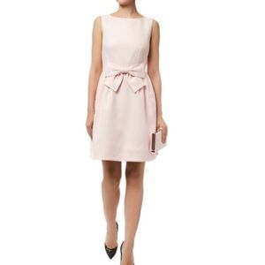 MAISON JULES pink bow dress S